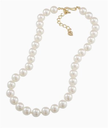 white pearl necklace png