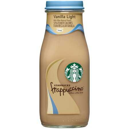 (24 Count) Starbucks frappuccino, vanilla light, 9.5 fl oz- $1.42/bottle - Walmart.com