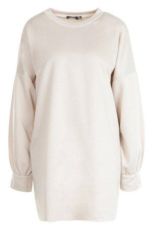 The Perfect Oversized Sweat Dress | boohoo
