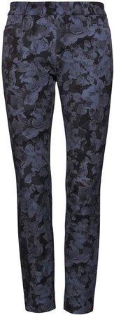 Sloan Skinny-Fit Floral Ankle Pant