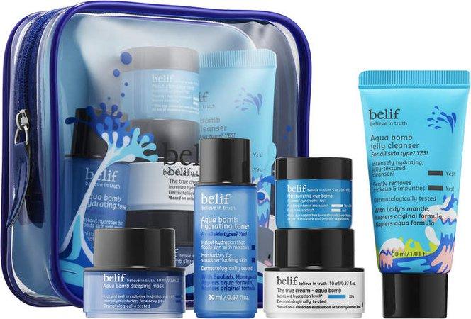 Belif belif - Aqua Hydration Rescue Kit