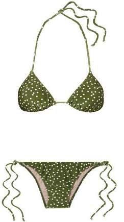 Mille Punti Polka-dot Triangle Bikini