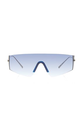 Kaleos Eyehunters Edward Aviator-Style Gold-Tone Sunglasses