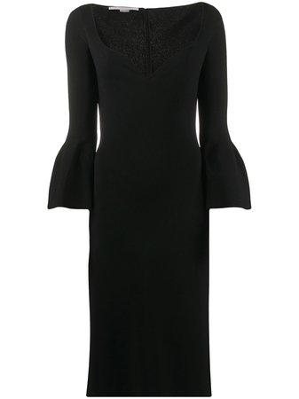 Stella McCartney sweetheart-neckline Shift Dress - Farfetch