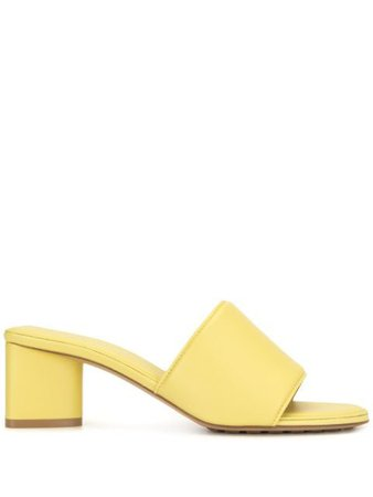 Bottega Veneta low-heel slip-on mules yellow 651378VBSL0 - Farfetch