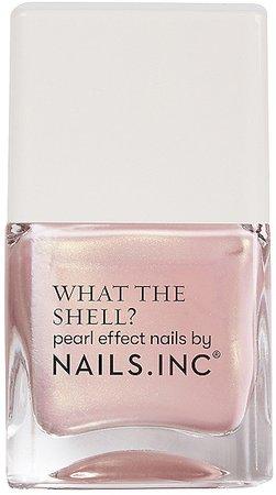 NAILS.INC What the Shell? Pearl Effect Nail Polish