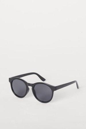 Runde Sonnenbrille - Schwarz - Ladies | H&M DE
