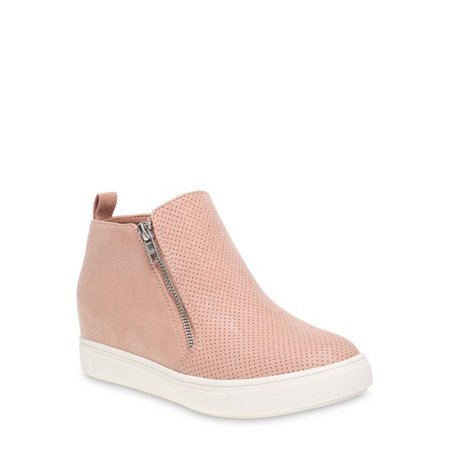 Time and Tru - Time and Tru Sneaker Wedge (Women's) (Wide Width Available) - Walmart.com - Walmart.com pink