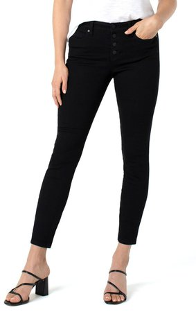 Abby Sustainable High Waist Ankle Skinny Jeans