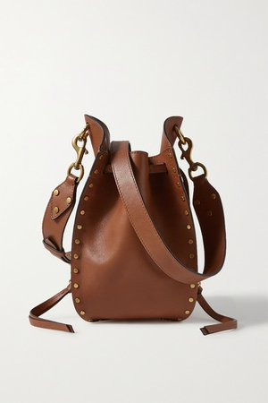 Isabel Marant | Radja studded leather bucket bag | NET-A-PORTER.COM