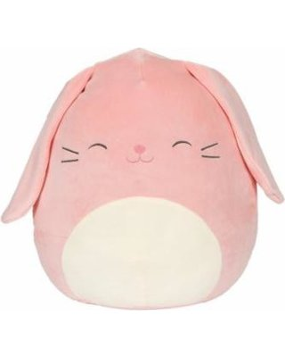 Can't Miss Bargains on Kellytoy Squishmallows Baby Pink Bunny Themed Pillow Plush Toy, 9 inches