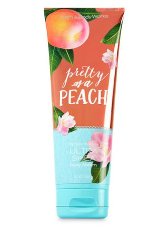 Pretty as a Peach Ultra Shea Body Cream - Signature Collection | Bath & Body Works