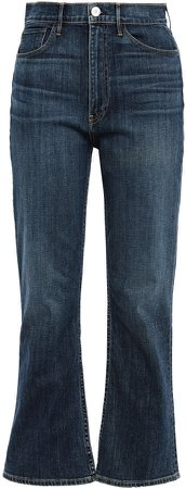 Empire High-rise Kick-flare Jeans