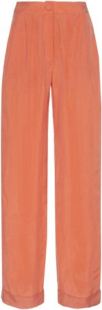 MATERIEL Lightweight Straight-Leg Pants