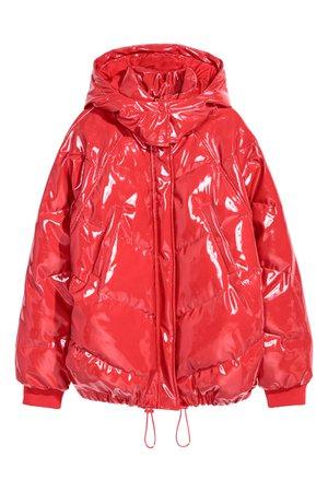 Patent jacket | Red | LADIES | H&M ZA