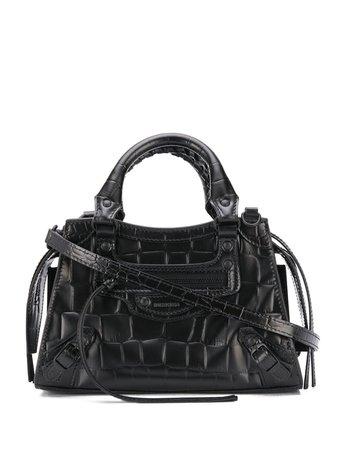 Black Balenciaga Neo Classic mini top handle bag 63852415V17 - Farfetch