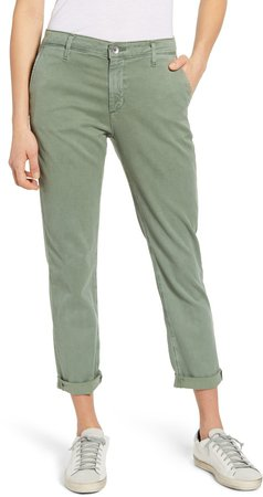Caden Crop Twill Trousers