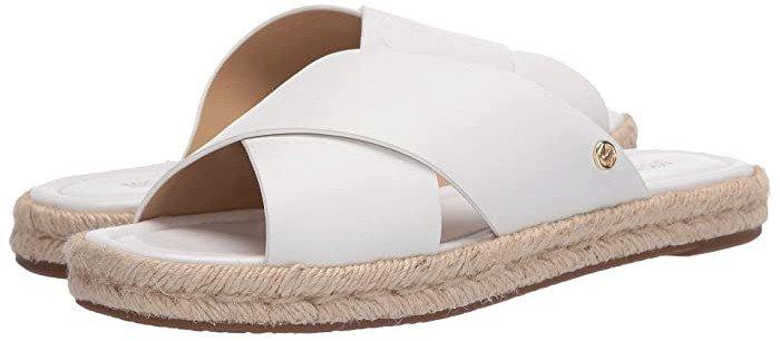 Linden Slide (Optic White) Women's Shoes