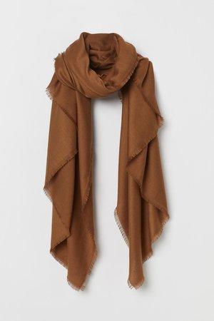 Scarf - Brown - Ladies | H&M GB