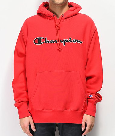 red champion hoodie - Google Search