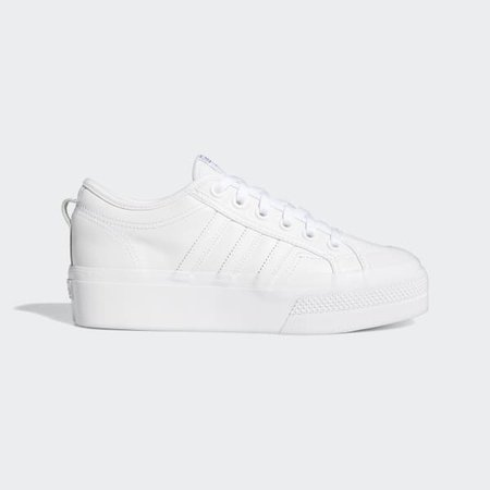 adidas Nizza Platform Shoes - White | adidas US