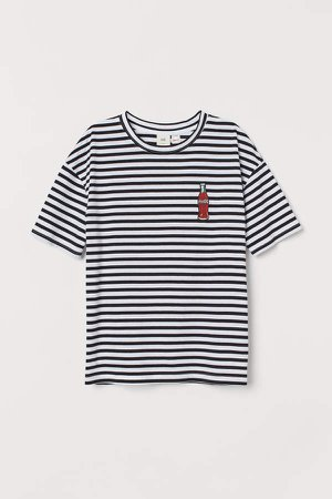 Graphic-design T-shirt - Black