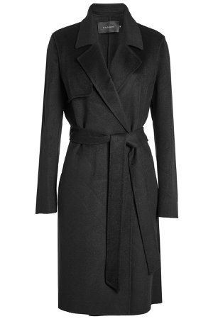 Wool Coat with Belt Gr. FR 40