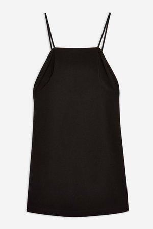 Black Low Back Mini Slip Dress | Topshop