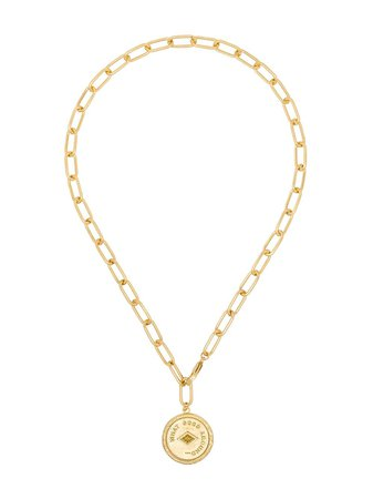 By Alona Coin Pendant Necklace - Farfetch