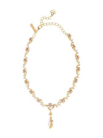 Oscar De La Renta, 24kt gold-plated Pearl Necklace