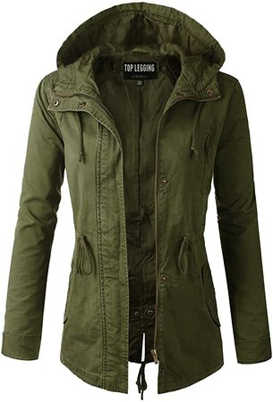Anorak Jacket Women, Lightweight, Long Military Cargo Parka, Regular & Plus Size at Amazon Women's Coats Shop