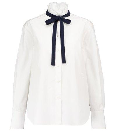 Chloé - Cotton blouse   Mytheresa