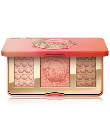 Highlighter Palette Too Faced Sweet Peach Glow Peach-Infused Highlighting Palette & Reviews - Makeup - Beauty - Macy's