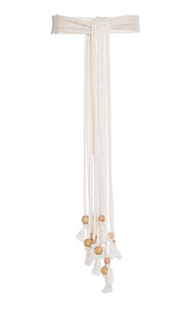 Philosophy di Lorenzo Serafini Beaded Rope Cotton Belt