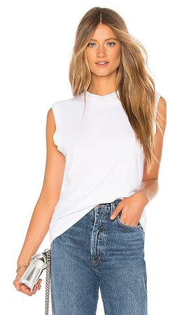 AGOLDE Muscle Tee in White | REVOLVE