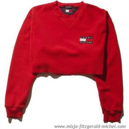 tommy hilfiger crop top hoodie - Google Search