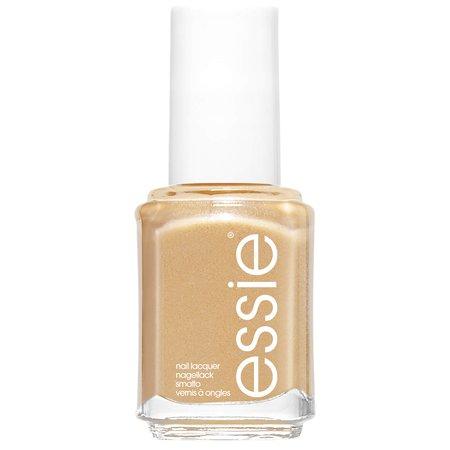 essie Celebration 570 Mani Thanks Gold Nail Polish 13.5ml | Free Shipping | Lookfantastic