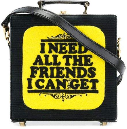 book cover shoulder bag
