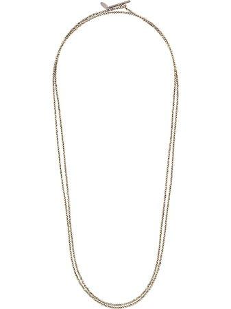 Brunello Cucinelli Cpir two-strand Necklace - Farfetch