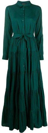 Waist-Tied Shirt Dress