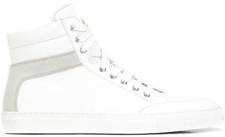 The Primo Bianco hi-top sneakers
