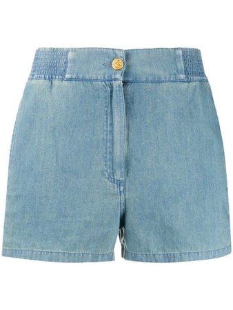 Gucci Piped Chambray Shorts