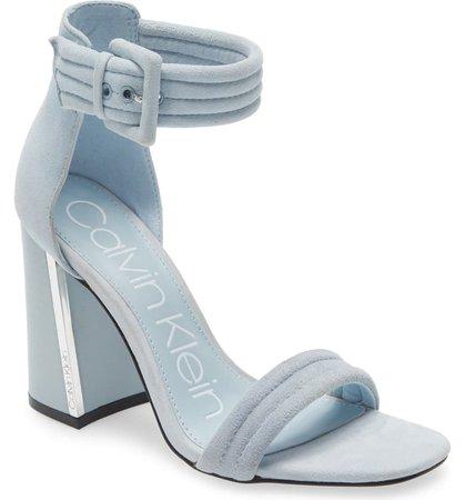 Calvin Klein Rochanda Ankle Strap Sandal (Women) | Nordstrom