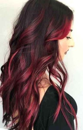 Reddish Highlights For Dark Hair Red Highlights For Dark Hair Elegant Best Black Hair Red Highlights Ideas On – kcnym.com