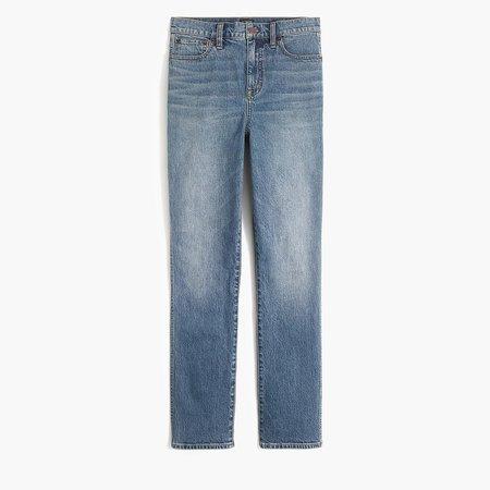 Classic vintage jean in faded indigo wash