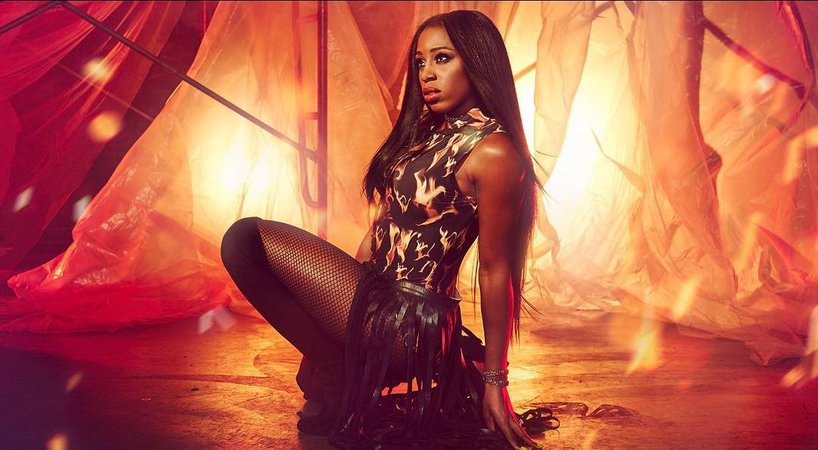 """WWE Superstar NAOMI on Instagram: """"Check out our tribute to #KANE in the new gallery at WWE.com"""""""
