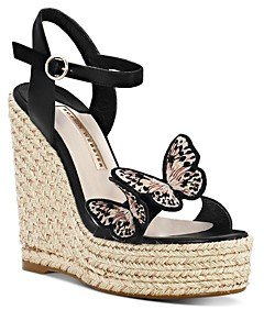Women's Riva Butterfly Wedge-Heel Espadrille Sandals