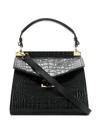 Givenchy Medium Mystic Crocodile-Effect Tote Bag | Farfetch.com