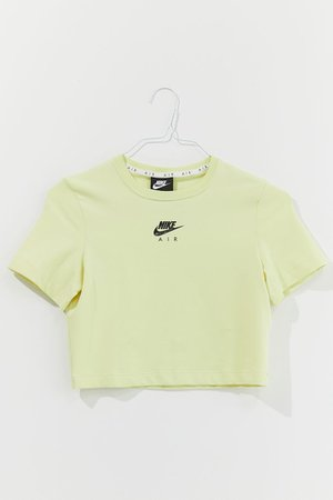Nike Air Short Sleeve Cropped Tee | Urban Outfitters