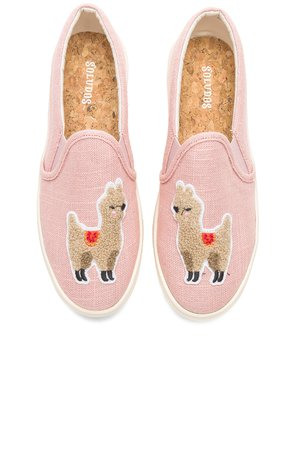 Llama Slip On Sneaker